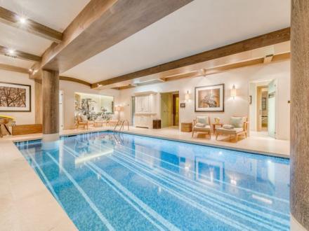 Casale di lusso in affito COURCHEVEL, 400 m², 5 Camere