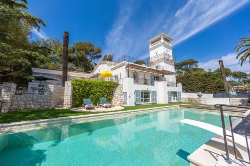 Luxus-Haus zu vermieten CAP D'ANTIBES, 400 m², 5 Schlafzimmer