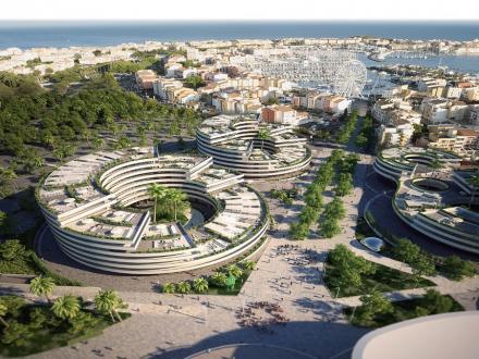 Luxus-Wohnung zu verkaufen LE CAP D'AGDE, 74 m², 3 Schlafzimmer, 570000€