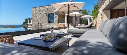 Luxus-Haus zu vermieten LA CROIX VALMER, 390 m², 5 Schlafzimmer,