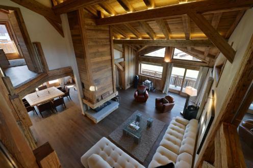 Chalet de luxe à louer MEGEVE, 500 m², 6 Chambres,