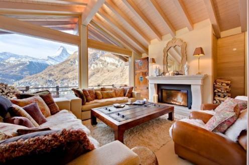 Chalet de luxe à louer Zermatt, 500 m², 5 Chambres,