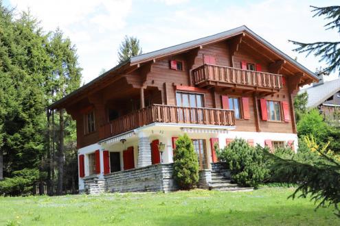Chalet de luxe à vendre Crans-Montana, 400 m²