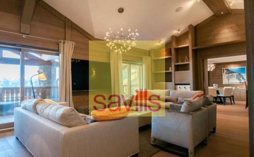 Appartement de luxe à louer COURCHEVEL, 140 m², 4 Chambres