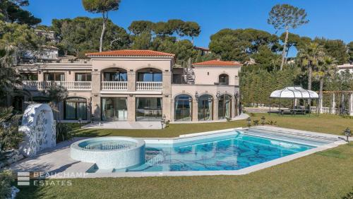 Villa de luxe à vendre CAP D'ANTIBES, 1300 m², 7 Chambres