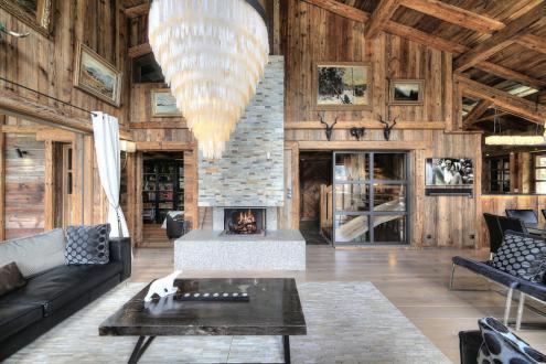 Chalet de luxe à louer MEGEVE, 1 m², 6 Chambres,