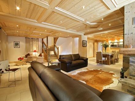 Casale di lusso in affito COURCHEVEL, 240 m², 5 Camere