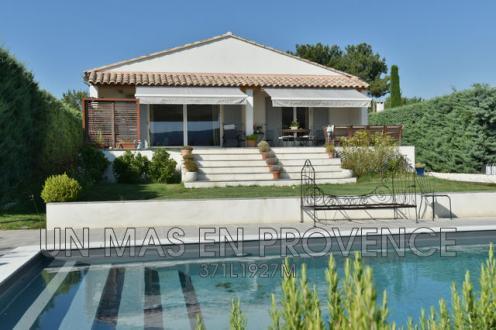 Luxus-Haus zu vermieten CABRIERES D'AVIGNON, 135 m², 2 Schlafzimmer,