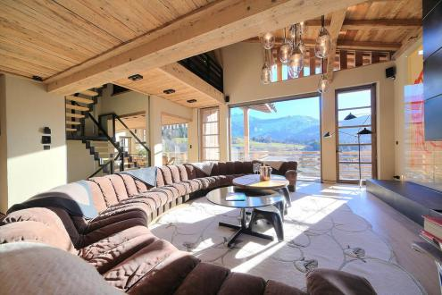 Luxury Chalet for rent MEGEVE, 450 m², 6 Bedrooms,