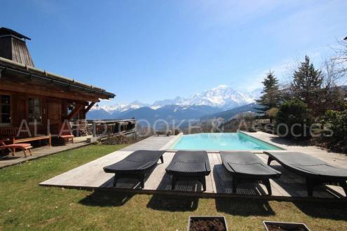 Chalet de luxe à vendre COMBLOUX, 230 m², 7 Chambres, 2700000€