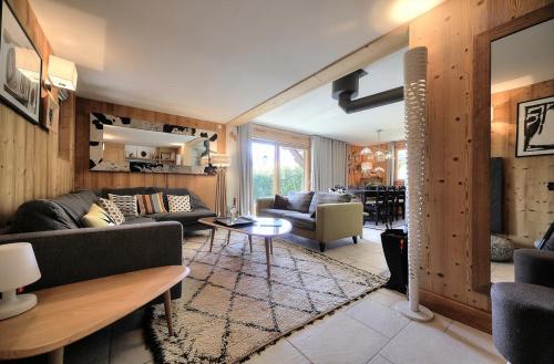 Luxury Chalet for rent MEGEVE, 1 m², 3 Bedrooms,
