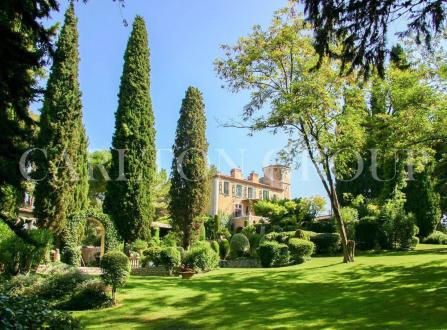 Château / Manoir de luxe à vendre LA COLLE SUR LOUP, 1200 m², 14 Chambres, 9900000€