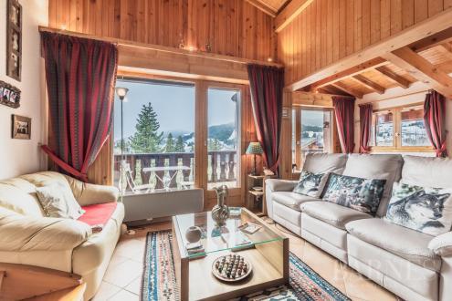 Luxus-Wohnung zu verkaufen MEGEVE, 65 m², 2 Schlafzimmer, 750000€