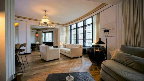Appartement de luxe à louer IXELLES, 140 m², 2 Chambres