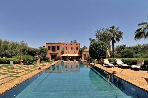 Villa de luxe à vendre MARRAKECH, 1200 m², 7 Chambres, 2200000€