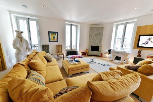 Luxus-Wohnung zu vermieten CHAMONIX MONT BLANC, 140 m², 4 Schlafzimmer,