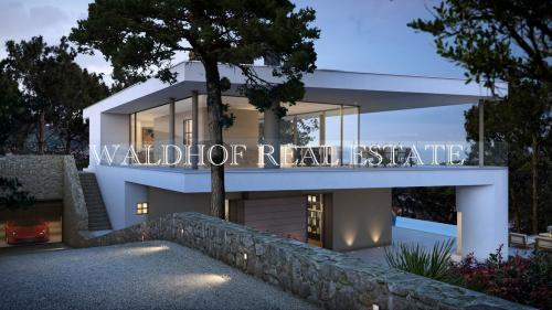 Вилла класса люкс на продажу  Рокбрюн-Кап-Мартен, 308 м², 4 Спальни, 6900000€