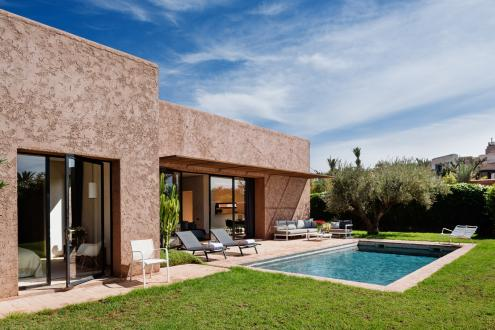 Дом класса люкс на продажу  Марракеш, 205 м², 2 Спальни, 915000€