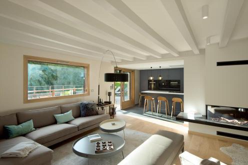 Chalet de luxe à louer CHAMONIX MONT BLANC, 300 m², 6 Chambres,