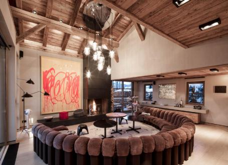 Luxury Chalet for rent MEGEVE, 500 m², 6 Bedrooms