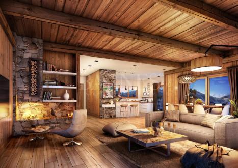 Appartement de luxe à vendre MERIBEL LES ALLUES, 87 m², 3 Chambres