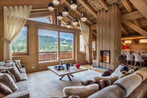Luxury Chalet for rent MEGEVE, 895 m², 9 Bedrooms