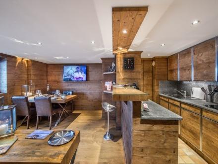 Luxus-Wohnung zu vermieten COURCHEVEL, 60 m², 2 Schlafzimmer,