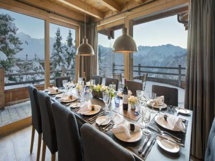 Luxury Chalet for rent Verbier, 5 Bedrooms,