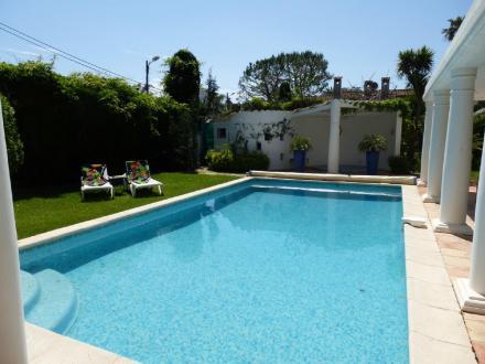 Luxe Huis te huur CAP D'ANTIBES, 180 m², 4 Slaapkamers
