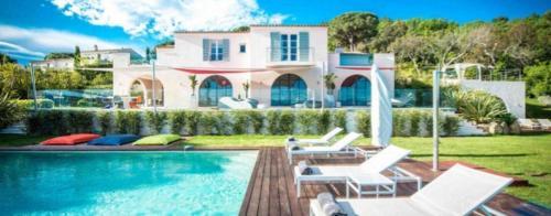 Luxus-Haus zu vermieten RAMATUELLE, 440 m², 6 Schlafzimmer,