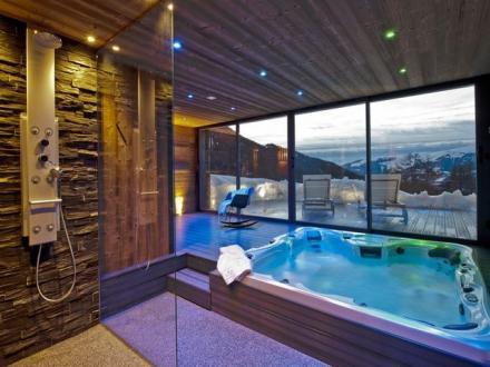 Chalet de luxe à louer LA PLAGNE, 270 m², 5 Chambres,