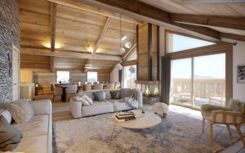 Appartement de luxe à vendre MERIBEL LES ALLUES, 155 m², 4 Chambres