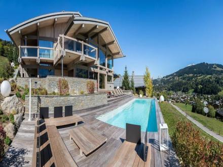 Chalet de luxe à louer MEGEVE, 1200 m², 7 Chambres,
