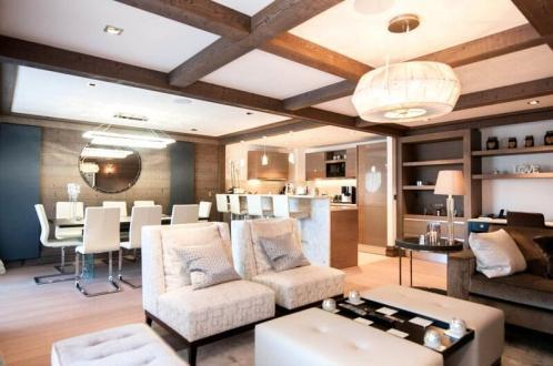 Appartement de luxe à louer COURCHEVEL, 120 m², 3 Chambres