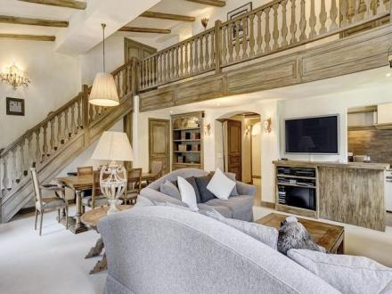 Luxury Apartment for rent MEGEVE, 145 m², 4 Bedrooms