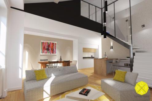 Appartement de luxe à vendre LYON, 124 m², 3 Chambres