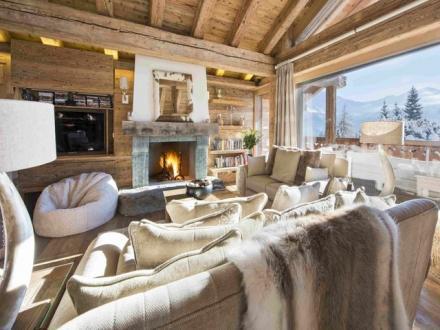 Chalet de luxe à louer Verbier, 5 Chambres,