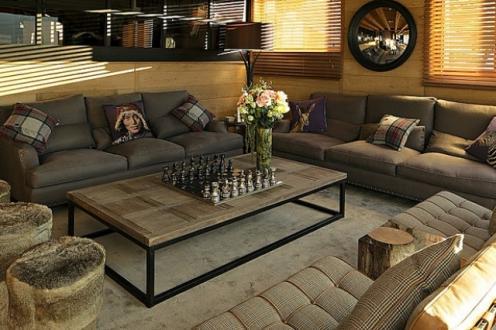 Maison de luxe à louer LES GETS, 650 m², 6 Chambres