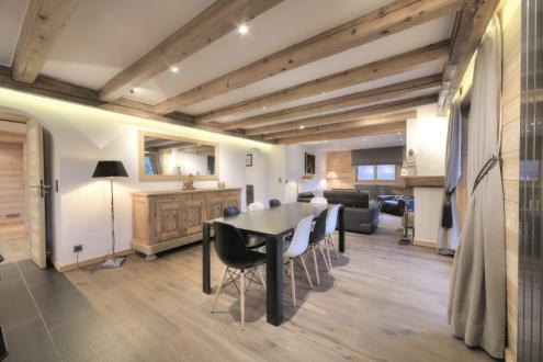 Luxury Apartment for rent MEGEVE, 90 m², 3 Bedrooms,