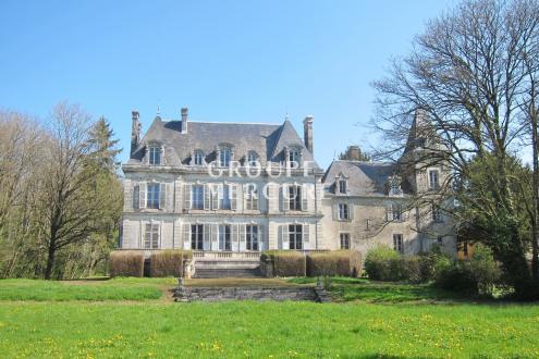 Château / Manoir de luxe à vendre SAINT SAUVEUR EN PUISAYE, 375 m², 7 Chambres, 695000€