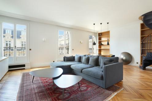 Luxe Appartement te huur PARIS 8E, 165 m², 4 Slaapkamers