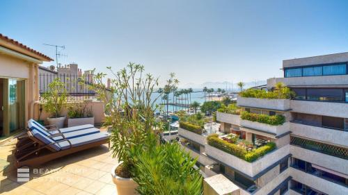 Luxury Apartment for rent CANNES, 120 m², 2 Bedrooms,