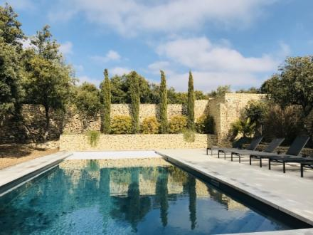 Luxury House for rent CABRIERES D'AVIGNON, 6 Bedrooms,