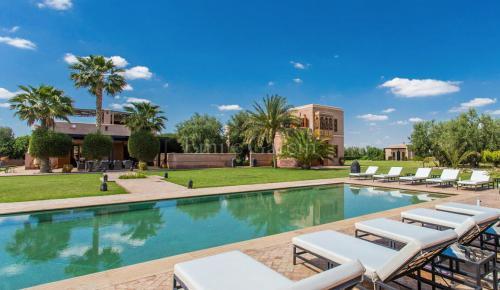 Villa de luxe à vendre MARRAKECH, 700 m², 6 Chambres, 1250000€