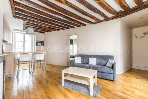 Luxe Appartement te huur PARIS 16E, 42 m²