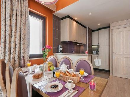 Luxus-Wohnung zu vermieten AVORIAZ, 65 m², 2 Schlafzimmer