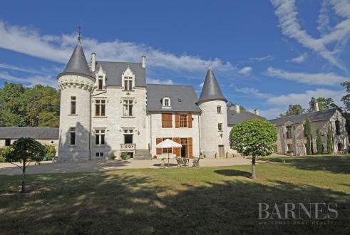 Château / Manoir de luxe à vendre CHINON, 500 m²