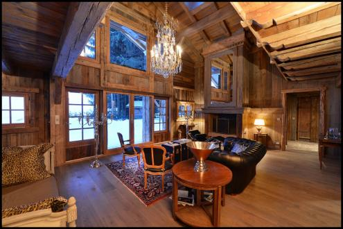 Luxury Chalet for rent MEGEVE, 235 m², 4 Bedrooms,