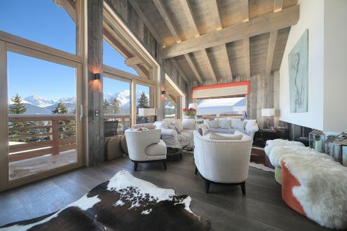 Chalet de luxe à louer COMBLOUX, 190 m², 6 Chambres,