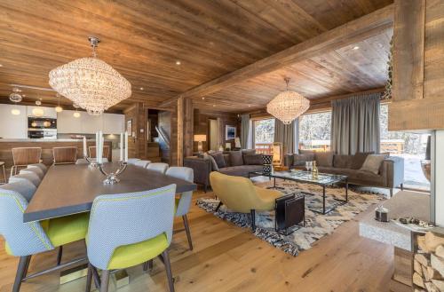 Chalet de luxe à louer MEGEVE, 172 m², 4 Chambres